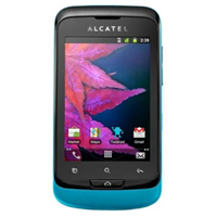 Alcatel One Touch 918D blau
