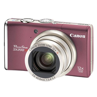 Canon Powershot SX200IS rot