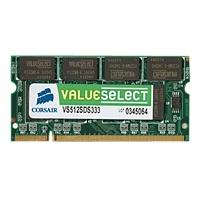 Corsair SO-DIMM 1GB VS1GSDS400