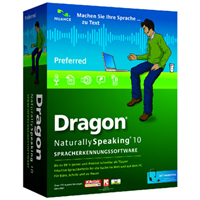 Dragon Naturally Speaking 10.0 Preferred, inkl. Headset (A109P-W00.10.0)