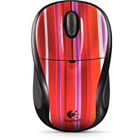 Logitech M305 Wireless Mouse (Sassy Stripe)