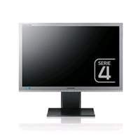 Samsung SyncMaster S24A450BW silber