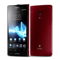 Sony Xperia ion red