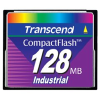 Transcend Industrial CompactFlash Karten 128MB (UDMA Mode)