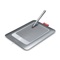 Wacom Bamboo Fun Small silber