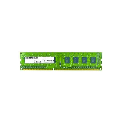 2-Power 2GB DDR3 1333MHz SR DIMM (MEM2101A)