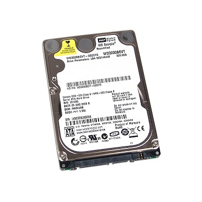 320GB Western Digital Scorpio Blue (WD3200BEVT)
