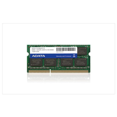 ADATA 2GB DDR3 SO-DIMM Kit (AD3S1333C2G9-S)