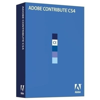 Adobe Contribute CS4, Mac, Upg, DE (65015740)
