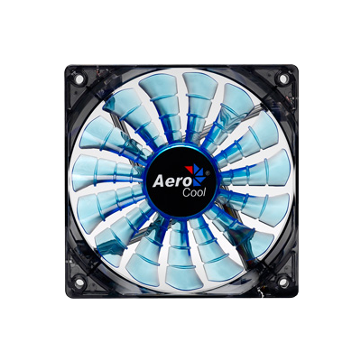 Aerocool Shark Fan Blue Edition 12cm