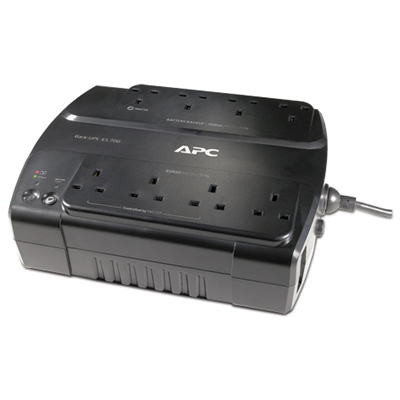 APC Power-Saving Back-UPS ES 8 Outlet 700VA 230V BS 1363