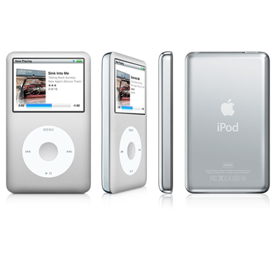 Apple iPod classic 160GB silber (6.Generation)