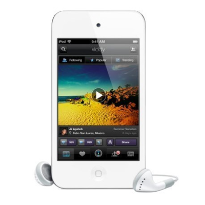 Apple iPod touch 16GB weiß (4.Generation)