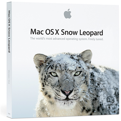 Apple Mac OS X Snow Leopard 10.6 Family Pack (Upgrade)