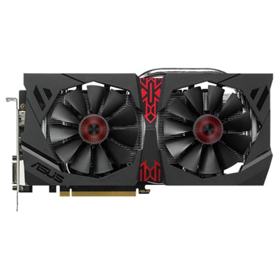 ASUS STRIX-R9380-DC2OC-2GD5-GAMING AMD Radeon R9 380 2GB