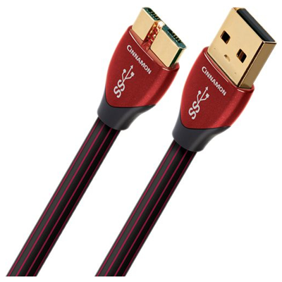AudioQuest 1.5m Cinnamon Micro-USB 3.0