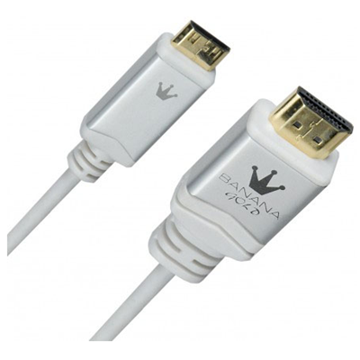 BananaGold 1m HDMI 1.4 (5121110 W-T)