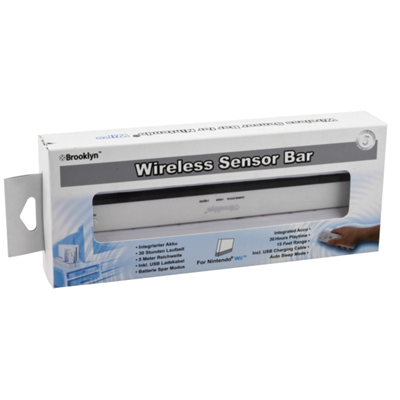 Brooklyn Wireless Sensor Bar, Wii-Zubehör