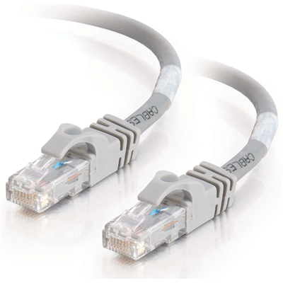 C2G Cat6 550MHz Snagless Patch Cable Grey 1.5m