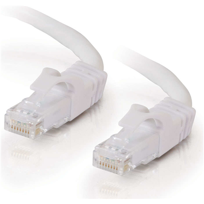 C2G Cat6 Snagless Patch Cable White 10m