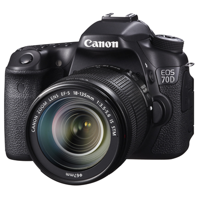 Canon EOS 70D + 18-135mm F3.5-5.6 IS STM (8469B018)