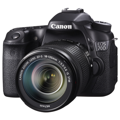 Canon EOS 70D + 18-135mm F3.5-5.6 IS STM (8469B043)
