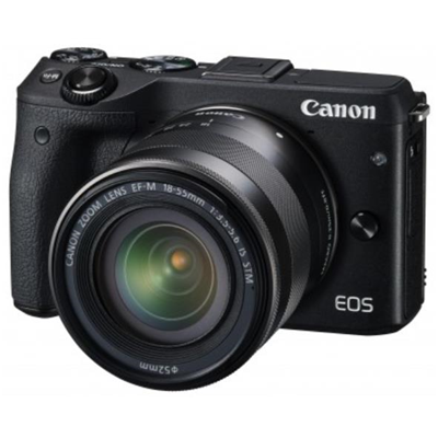 Canon EOS M3 Kit EF-M 18-55 mm IS STM