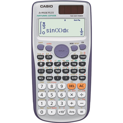 Casio FX-991DE Plus