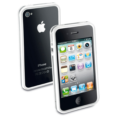 Cellular Line BUMPER FOR IPHONE 4S/4 (BUMPERIPHONE4W)