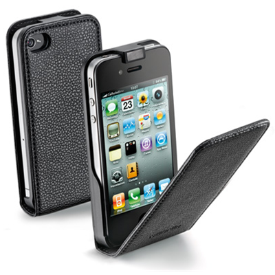 Cellular Line Flap Essential For iPhone 4/4S (FLAPESSENIPHONE4BK)