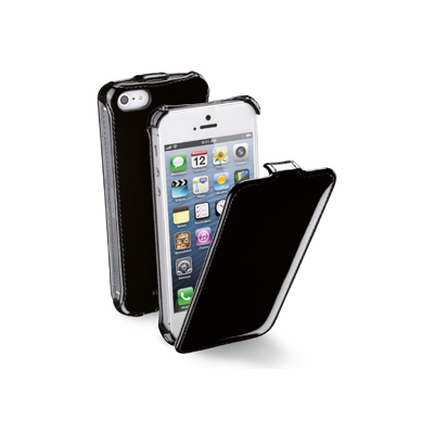 Cellular Line FLAP GLOSSY (FLAPGLOSSIPHONE5BK)