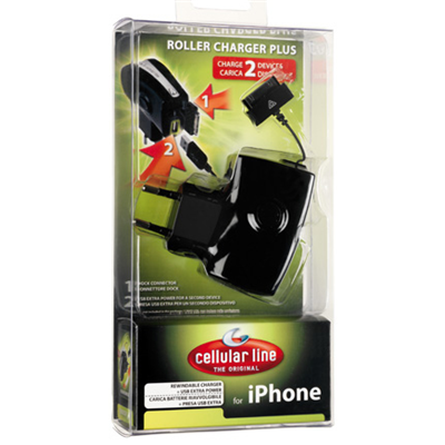 Cellular Line ROLLER CHARGER PLUS (ACHARUSBMICROUSB1)
