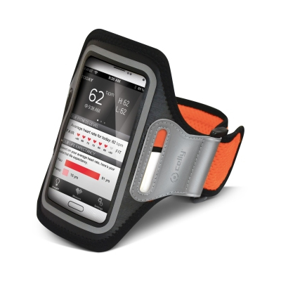 Celly ARMBAND CASE SIZE ORANGE FLUO