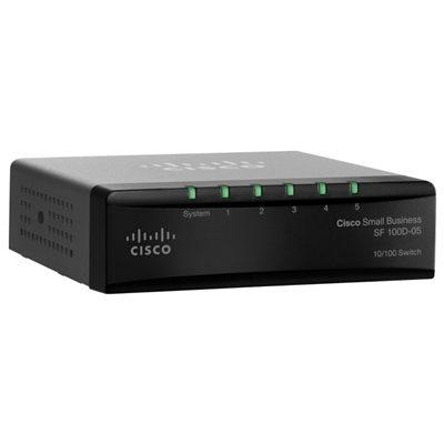 Cisco Small Business SF100D-05-EU Netzwerk Switch