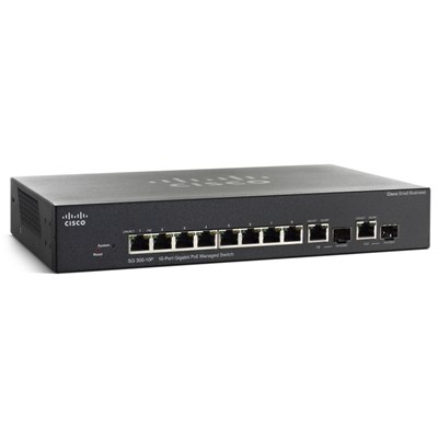 Cisco Small Business SG300-10MPP (SG300-10MPP-K9-UK)