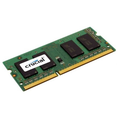 Crucial 1GB, 204-pin SODIMM, DDR3 (CT12864BF1339)