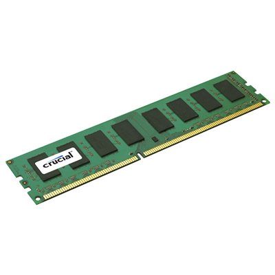 Crucial 2GB DDR3-1600 CL11 Non ECC (CT25664BA160BJ)
