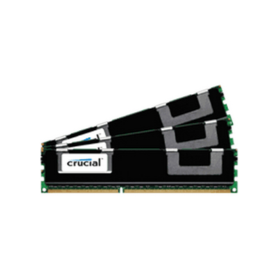 Crucial 48GB Kit, 240-pin DIMM, DDR3 PC3-10600 (CT3K16G3ERVLD41339)