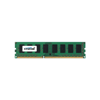 Crucial 4GB, 240-pin DIMM, DDR3 PC3-12800 (CT4G3ERVLD8160B)