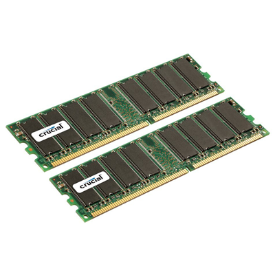 Crucial 4GB DDR Memory Kit (CT2CP25672Y335)