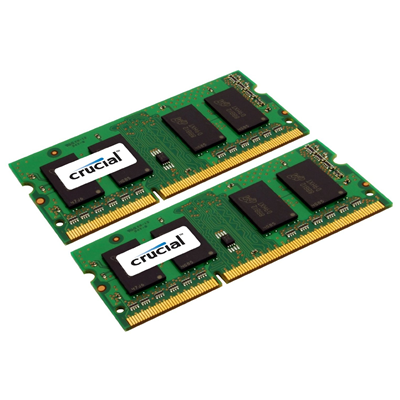 Crucial 8GB DDR3 1333MHz Kit (CT2CP51264BF1339)