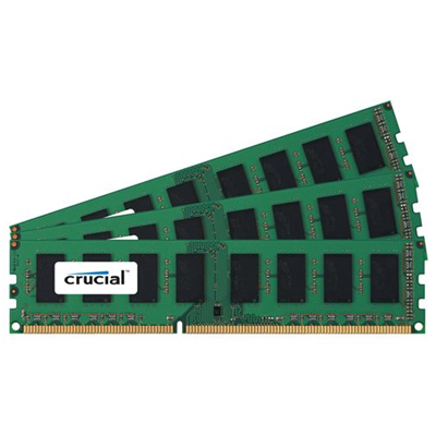 Crucial 96GB (32GBx3) PC3-14900 (CT3K32G3ELSDQ4186D)