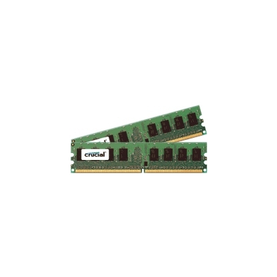 Crucial DDR2 PC2-5300 DIMM 2GB-kit (CT2KIT12872AB667S)