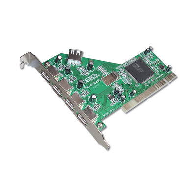 DIGITUS USB 2.0 - PCI Karte DC USB2-5