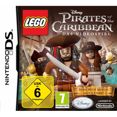 Disney Lego Pirates of the Caribbean, DS