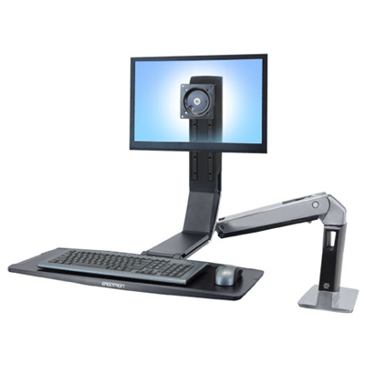 Ergotron WorkFit WorkFit-A Single LD