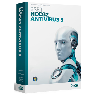 Eset NOD32 Antivirus 2012, DVD, 3PC
