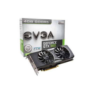 EVGA 04G-P4-3968-KR NVIDIA GeForce GTX 960 4GB