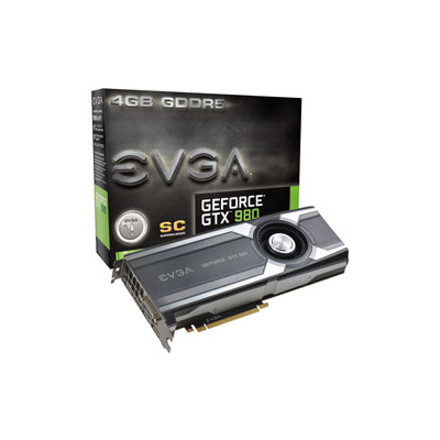 EVGA GeForce GTX 980 Superclocked NVIDIA GeForce GTX 980 4096GB