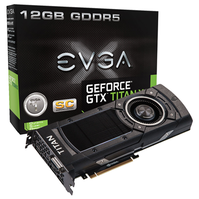 EVGA GeForce GTX TITAN X Superclocked 12 GB GDDR5 NVIDIA 12GB